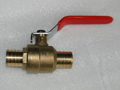 "(10) 1/2"" PEX BALL VALVE BRASS **LEAD FREE** Crimp Fitting PLUMBING WATER WELL"