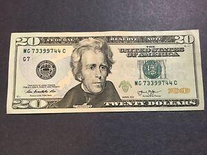 Image Is Loading 20 Dollars Bill Series  Pairs