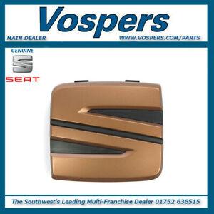 Genuine Seat Arona, Ibiza & Leon Front Copper Badge. Brand New! 5F0853679C27A