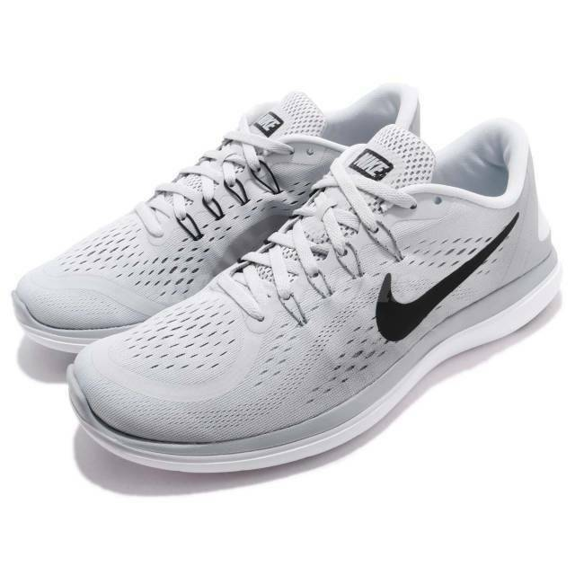 newest a1b4b 22647 Nike Flex 2017 RN Pure Platinum Men Training Running Shoes Size 13 for sale  online   eBay