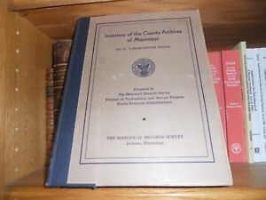 Lamar County Mississippi Inventory of Archives Genealogy ...
