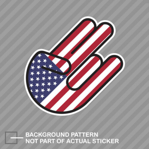 American Shocker Sticker Decal Vinyl United States America USA US