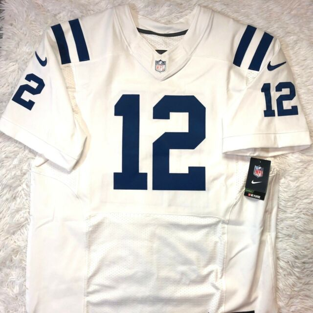 da27f5f4 Nike Men's Home Elite Jersey Indianapolis Colts Andrew Luck #12