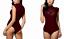 Doreanse Womens Lace Elegant Bodysuit Lingerie Bikini Back Quality Leotard Top