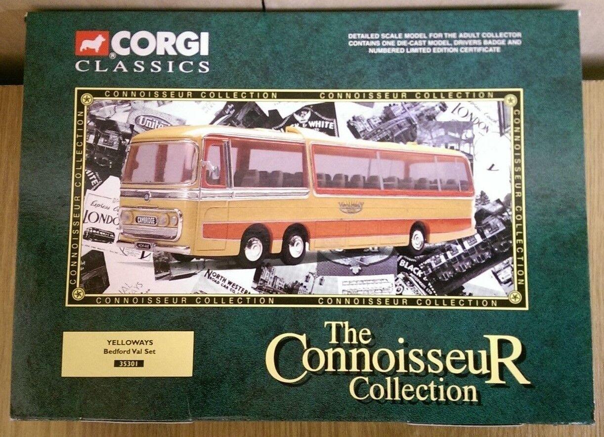 Corgi Classics 35301 Yelloways Bedford VAL Set Ltd Edition No. 0002 of 6100