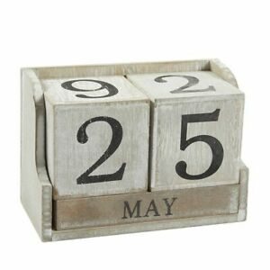 Wooden-Calendar-Block-Wood-Desk-Calendar-Home-Office-Decor-5-3-034-x-3-7-034-x-2-6-034