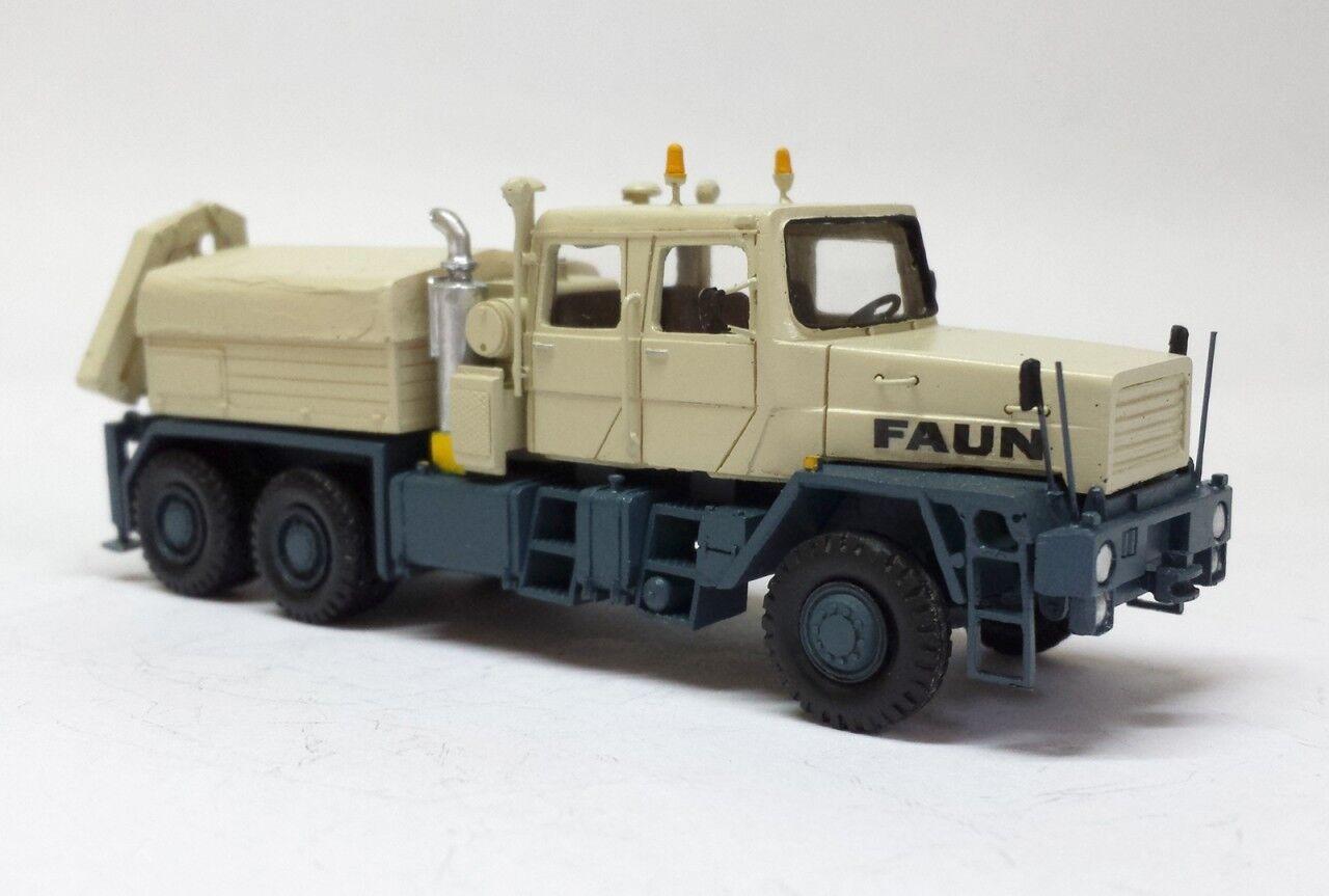 più economico HO 1 87 Faun HZ 40.45 45W 6x6 with crane crane crane - Ready fatto Resin modello  outlet online economico