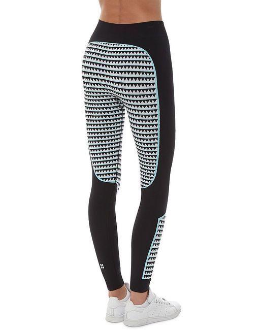 Sweaty Betty Ski Thermique Sans Couture Leggings Large Neuf