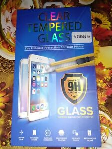 Details about Clear Tempered Glass Screen Protector For a ZTE Blade Z Max
