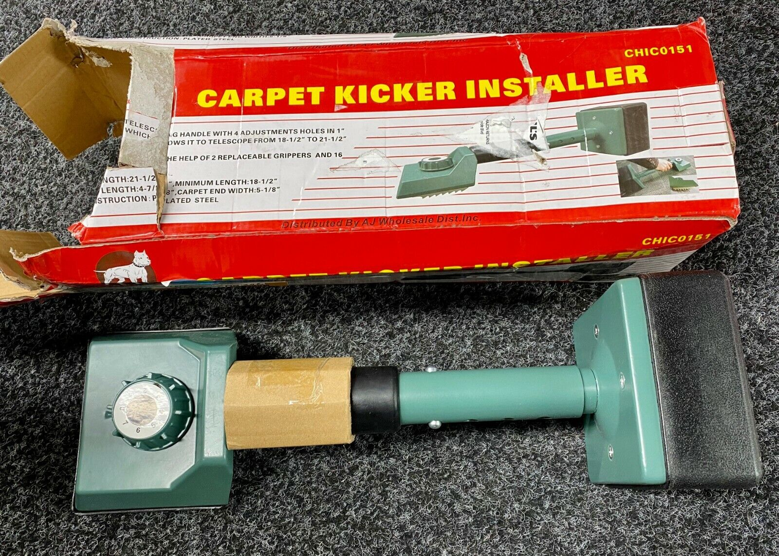 Pitbull CHIC0151 Carpet Kicker Installer