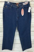 Liz & Me Signature Boot Cut Stretch Petite Jeans Size 16 W P With Tags