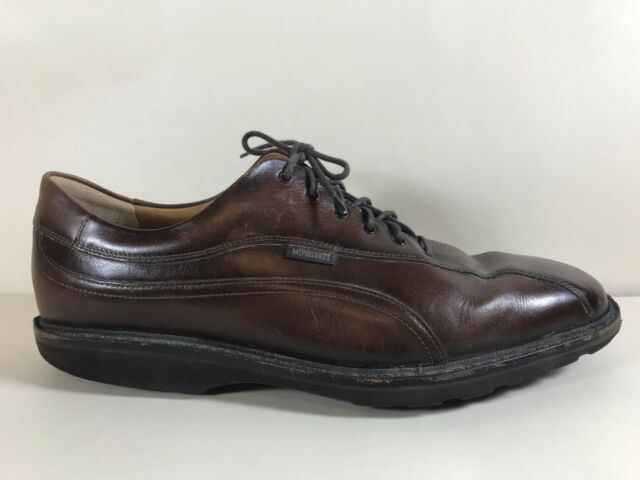 Mephisto Goodyear Welt Brown Lace Oxford Abel Mens Shoes Size 11 Bicycle Toe