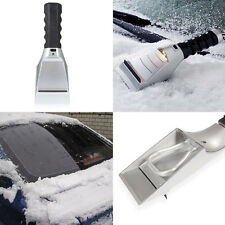 Heated Ice/Snow Scraper for Auto and winter vehicles- built-in LED light,12 volt
