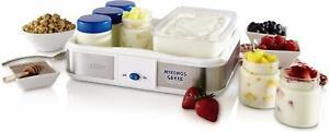 Yogurt Maker Oster Mykonos Greek Manual  2-Quart CKSTYM1010-033