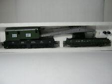 Roco HO 46330 Kranwagen + Kranschutzwagen Btr.Nr. - DB (RG/AL/42S2)