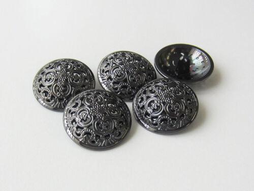 5 hermosa sensacional chromfb 5637ch ojales de metal botones con patrones avance