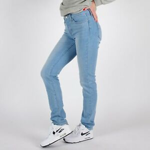 Levi-039-s-312-Shaping-Slim-hellblau-Damen-Jeans-26-32