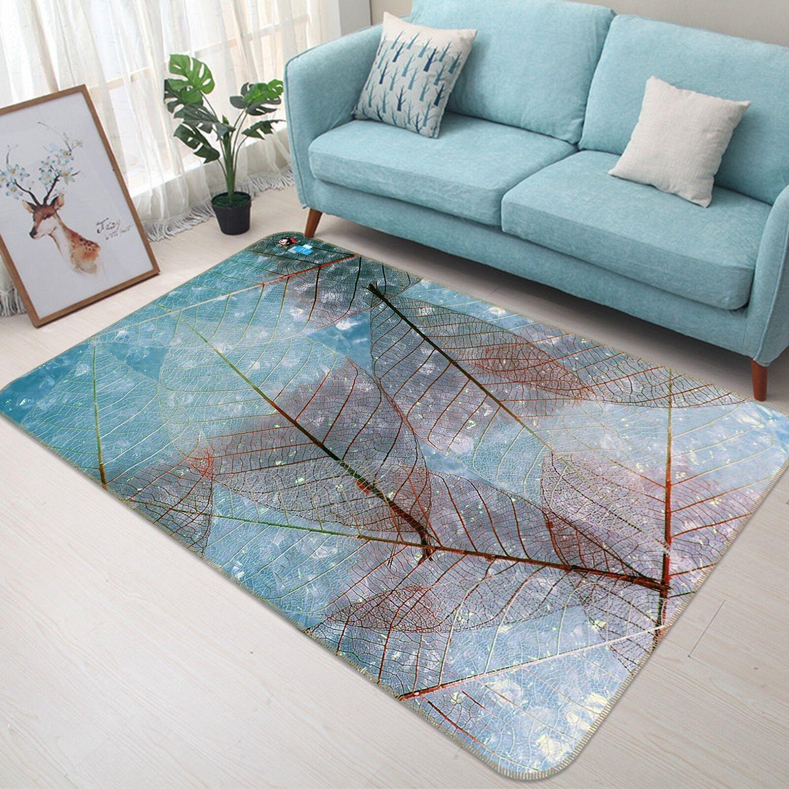 3d hojas textura 759 antideslizante alfombra alfombrilla para maletero alfombra elegante de