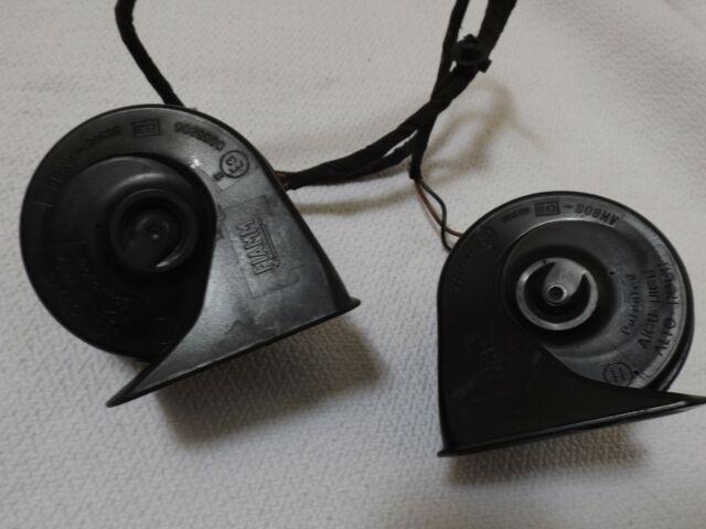 MERCEDES SLK R170 1996 - 2004 ORIGINAL PAIR HORNS (2) FIAMM 0055306 HIGH AND LOW