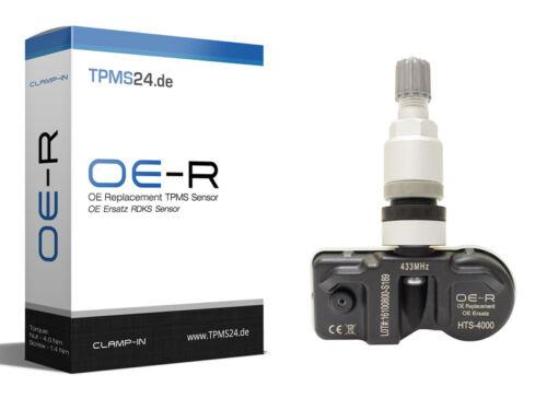 4x AUDI r8 04.2007-06.2009 rdks TPMS pressione pneumatici sensore OE-R 4f0907275b