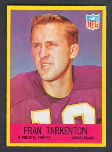 1967-Philadelphia-Football-FRAN-TARKENTON-106-Vikings-NEARMINT
