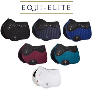 LeMieux Suede X-Grip Twin Sided Euro Jump Square - Luxury Stability Saddlepad
