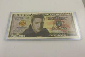 Faux-million-dollar-bill-Elvis-Presley-Novelty-fake-stocking-stuffer-the-King