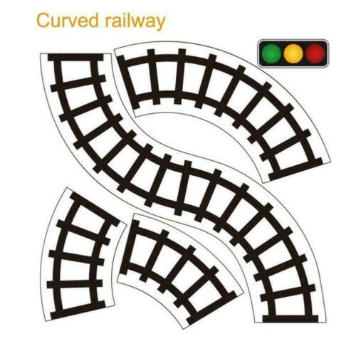 Kids Car Road Adhesive Tape Play Railway Room Floor Sticker Removable Track Toys