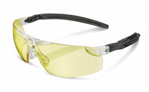 BBrand H50 Yellow Lens Work Safety Specs Spectacles Glasses Anti Fog Scratch New