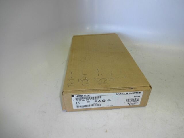 Schneider Modicon 140DDI35310 Dc In 24V 4X8 Source Module 140-DDI-353-10