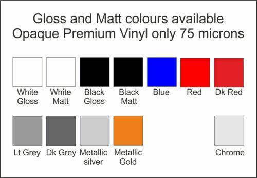 RC Vinyl Decals Transferts Rayures Doublure Pre Cut fprc 658 doré métallisé 6 mm