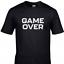 miniature 1 - Game Over Kids Gamer T-Shirt Gaming Tee Top