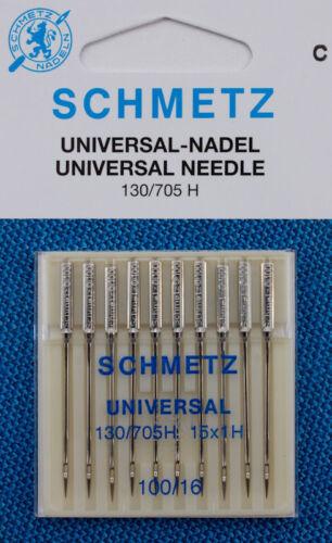 Schmetz universal agujas grosor 100 para las máquinas de coser