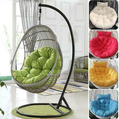 Hanging Egg Chair Cushion Sofa Swing Chair Thick Seat Cushion Padded Pad Covers Ebay