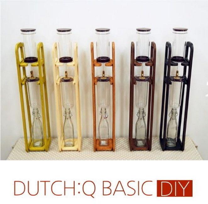 DutchQ DIY Basic Cold Brew Hand Drip Hand-Made Coffee Maker Couleurful Set E_n