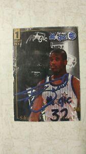 Shaquille-O-039-Neal-1-Draft-Pick-RARE-Autograph-Orlando-Magic-Card-PROMO-32-CENTER