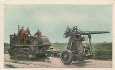 N°298 British Army Cannon defense gun transport World War Germany WWI 30s CHROMO