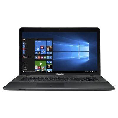 Asus X Series 17.3 Inch HD Intel Celeron 1.1Ghz 8GB 1TB Laptop - Black
