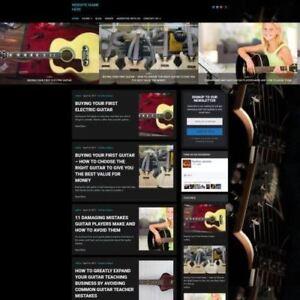 Fully-Stocked-GUITAR-WEBSITE-Business-Website-For-Sale-Domain-Hosting-Help