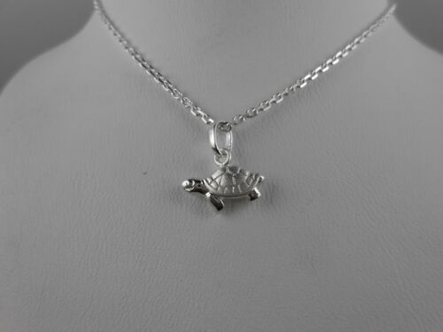 Süßer Kettenanhänger Schildkröte 925 Silber