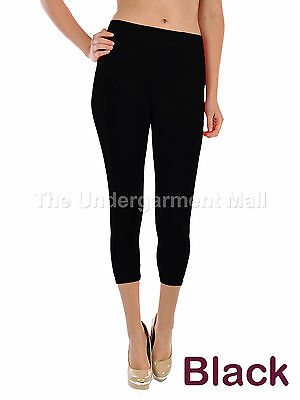 Womens Capri Leggings Skinny Stretch Cropped Sexy Yoga Pants Size XS,S,M,L