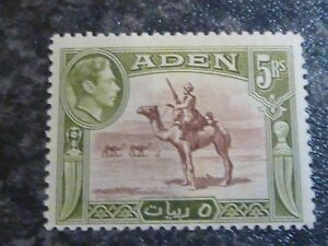 ADEN-POSTAGE-STAMP-SG26-5R-RB-amp-OG-LIGHTLY-MOUNTED-MINT