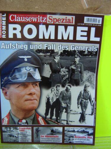 """AND Buch Clausewitz Spezial Rommel Aufstieg und Fall des Generals /""""Neu/"""""""