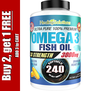 Ultra-Pure-Omega-3-Fish-Oil-3000mg-Small-Potent-Joint-Pain-Relief-XL-240ct