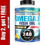 Ultra-Pure-Omega-3-Fish-Oil-3000mg-Small-Potent-Joint-Pain-Relief-XL-240ct thumbnail 1