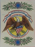 Bicentennial Eagle In God We Trust United States Of America Waterslide Decal