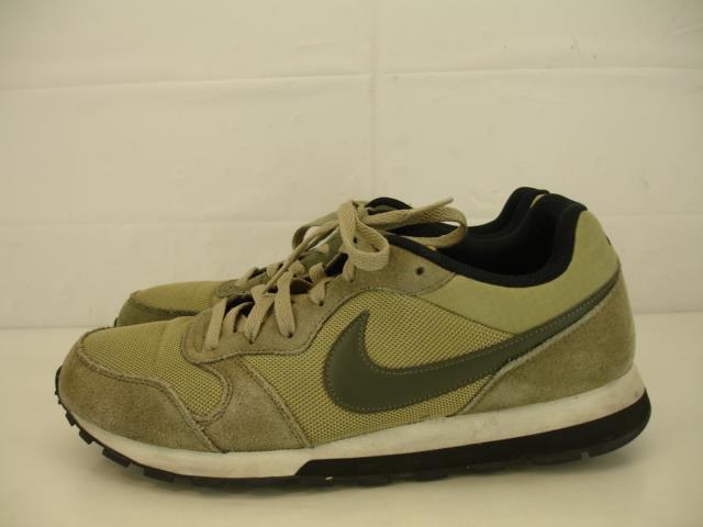 9ba5b29f76 Mens sz 10.5 Nike Md Runner 2 749794-220 Neutral Olive Cargo Khaki Running  shoes nchern5068-Athletic Shoes