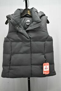 The-North-Face-Novelty-Nuptse-Goose-Down-Hooded-Vest-Women-039-s-Size-S-Black-NEW