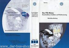 VW FSi-Motor - Reparaturleitfaden Video - Februar 2002