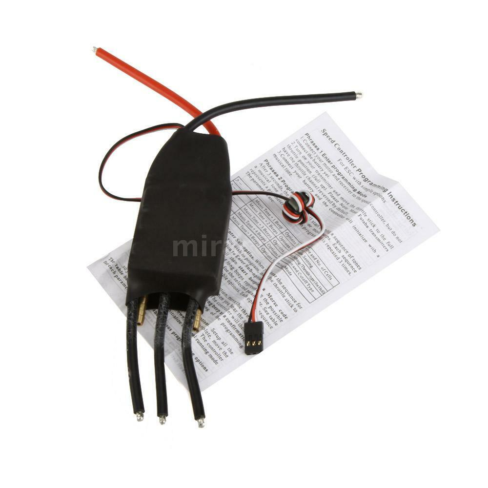 NEW 200A Brushless Water Cooling Speed Controller ESC w 5V 5A SBEC RC Boat G6R8